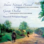 Nepomuk Fortepiano Quintet: Hummel, Onslow: Piano Quintets - CD