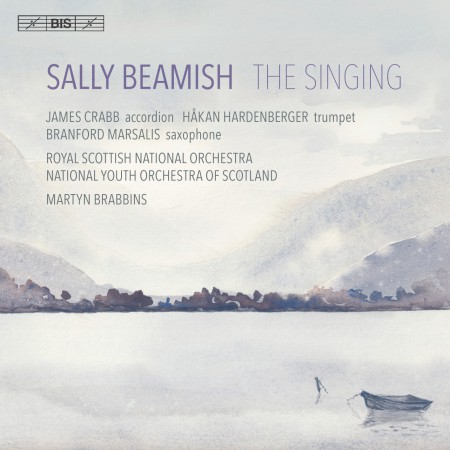 Branford Marsalis, Håkan Hardenberger, James Crabb, Royal Scottish National Orchestra, Martyn Brabbins: Beamish - The Singing - SACD