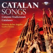 Victoria de los Angeles, Geoffrey Parsons: Victoria de los Angeles - Catalan Songs - CD