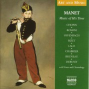 Çeşitli Sanatçılar: Art & Music: Manet - Music of His Time - CD