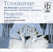 London Symphony Orchestra, André Previn: Tchaikovsky/ Prokofiev: The Nutcracker/ Cinderella (highlights) - CD