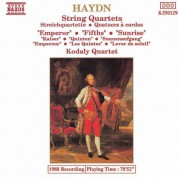 Kodály Quartet: Haydn: String Quartets Nos. 61-63 - CD