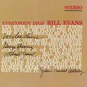 Bill Evans: Everybody Digs Bill Evans - Limited Edition In Solid Red Colored Vinyl. - Plak