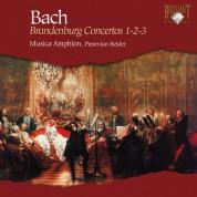 Musica Amphion, Pieter-Jan Belder: J.S. Bach: Brandenburg Concertos 1-2-3 - CD