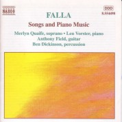 Falla: Songs and Piano Music - CD