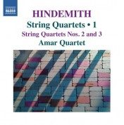 Amar Quartet: Hindemith: String Quartets, Vol. 1 - CD