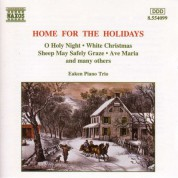 Eaken Piano Trio: Christmas Eaken Piano Trio: Home for the Holidays - CD