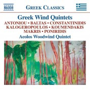 Aeolos Woodwind Quintet: Greek Wind Quintets - CD
