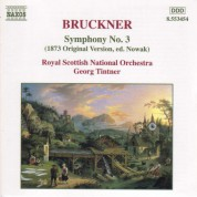 Royal Scottish National Orchestra, Georg Tintner: Bruckner: Symphony No. 3, Wab 103 - CD