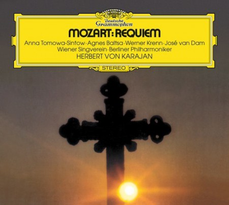 Agnes Baltsa, Berliner Philharmoniker, Herbert von Karajan, Werner Krenn, Anna Tomowa-Sintow, José van Dam, Wiener Singverein: Mozart: Requiem Messe Kv 317 - CD