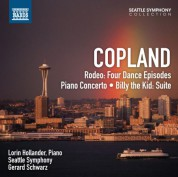 Gerard Schwarz: Copland: Rodeo - Piano Concerto - Billy the Kid - CD