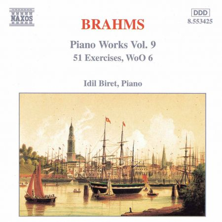 İdil Biret: Brahms: 51 Exercises, Woo 6 - CD
