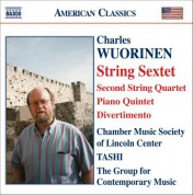 Wuorinen: String Sextet / String Quartet No. 2 / Piano Quintet / Divertimento - CD