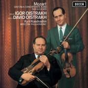 David Oistrakh, Igor Oistrakh, Philharmonisches Orchester Moskau, Kirill Kondrashin: Mozart: Sinfonia concertante - Plak