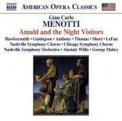 Alastair Willis: Menotti, G.C.: Amahl and the Night Visitors / My Christmas - CD