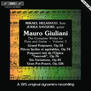 Mikael Helasvuo, Jukka Savijoki: Giuliani: Complete Works for Flute and Guitar, Vol.3 - CD
