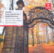 Bruno Leonardo Gelber, Münchner Philharmoniker, Franz-Paul Decker: Brhams: Piano Concerto No 1 - CD