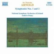 Arnold, M.: Symphonies Nos. 1 and 2 - CD