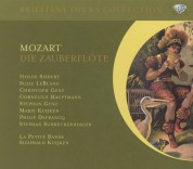 Isolde Siebert, Suzy Le Blanc, Christoph Genz, La Petite Bande, Sigiswald Kuijken: Mozart: Die Zauberflöte - CD
