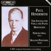Nobuko Imai, Roland Pöntinen: Hindemith - Viola Sonatas - CD