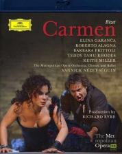 Elina Garanča, Roberto Alagna, Yannick Nézet-Séguin, The Metropolitan Opera Orchestra and Chorus: Bizet: Carmen - BluRay