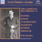Fritz Kreisler: Kreisler: The Complete Recordings Vol. 6 - CD