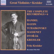 Fritz Kreisler: Kreisler: The Complete Recordings Vol. 6 - CD