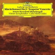 """Arturo Benedetti Michelangeli, Wiener Symphoniker, Carlo Maria Giulini: Beethoven: Piano Concerto No. 5 in E-Flat Major, Op. 73 """"Emperor"""" - Plak"""