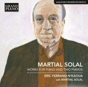 Eric Ferrand-N'Kaoua, Martial Solal: Solal: Works for Piano and Two Pianos - CD
