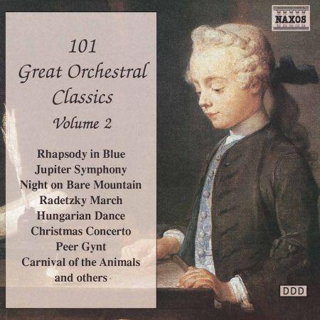 Çeşitli Sanatçılar: 101 Great Orchestral Classics, Vol.  2 - CD