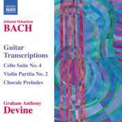 Graham Anthony Devine: Bach: Transcriptions and Arrangements for Guitar - CD