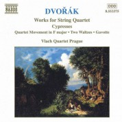 Vlach Quartet Prague: Dvorak, A.: String Quartets, Vol. 5 (Vlach Quartet) - Cypresses / String Quartet Movement in F Major / 2 Waltzes / Gavotte - CD