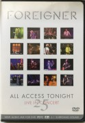 Foreigner: All Access Tonight, Live In Concert 25 - DVD