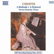 Istvan Szekely: Chopin: 4 Ballads / 4 Scherzi - CD