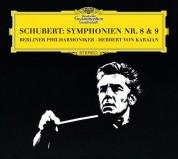 Berliner Philharmoniker, Herbert von Karajan: Schubert: Symphonie Nos. 8 + 9 - CD