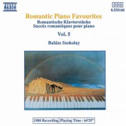 Balázs Szokolay: Romantic Piano Favourites, Vol.  5 - CD