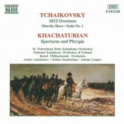 Tchaikovsky, P.I.: 1812 Overture / Khachaturian, A.I.: Spartacus - CD