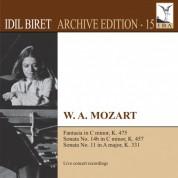 İdil Biret: Mozart: Keyboard Works (Biret Archive Edition, Vol. 15) - CD