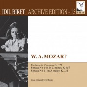 İdil Biret: Mozart: Keyboard Works (Biret Archive Edition, Vol. 15) - CD