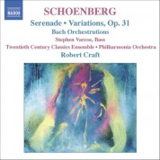 Robert Craft: Schoenberg, A.: Serenade / Variations for Orchestra / Bach Orchestrations - CD