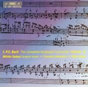 Miklós Spányi, Concerto Armonico, Péter Szűts: C.P.E. Bach: Keyboard Concertos, Vol. 13 - CD