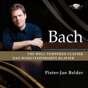 Pieter-Jan Belder: J.S. Bach: The Well-Tempered Clavier - Das Wohltemperierte Clavier - CD