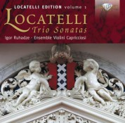 Ensemble Violini Capricciosi, Igor Ruhadze: Locatelli: Trio Sonatas - CD