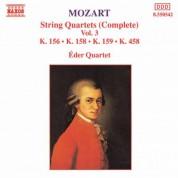 Mozart: String Quartets, K. 156, K. 158-159 and K. 458 - CD