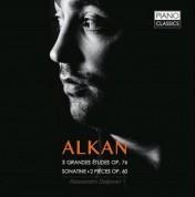 Alessandro Deljavan: ALKAN: 3 Grande Etudes Op. 76, Sonatine, 2 Petites Pieces Op. 60 - CD