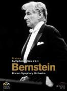 Israel Philharmonic Orchestra, Leonard Bernstein: Brahms: Symphonies Nos. 2&4 - DVD