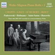 Welte-Mignon Piano Rolls, Vol.  1 (1905-1927) - CD