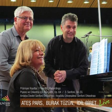 İdil Biret: Pars: Piyano ve Orkestra için Konçerto, 3.Senfoni - CD