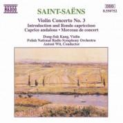 Saint-Saens: Violin Concerto No. 3 / Caprice Andalous - CD