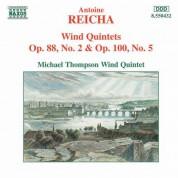 Reicha: Wind Quintets, Op. 88, No. 2 and Op. 100, No. 5 - CD